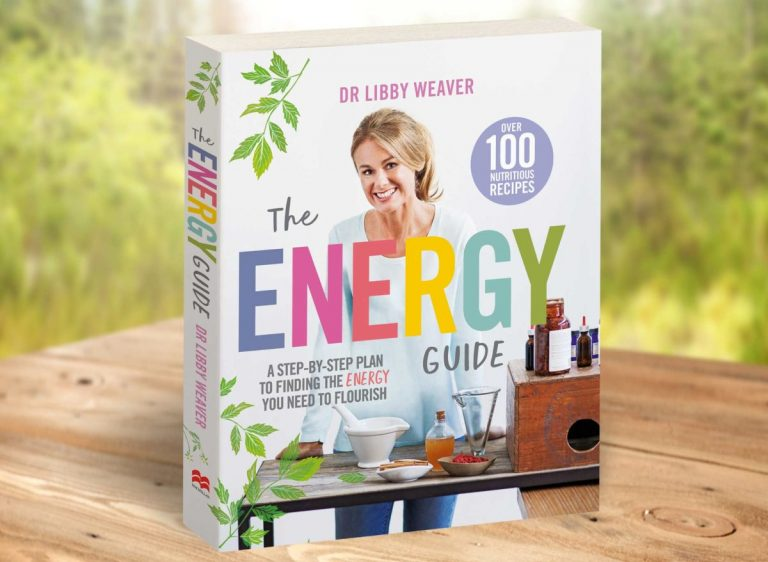 The Energy Guide book standing on a table